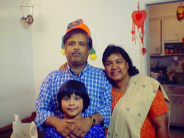 Ankita's Family Picture